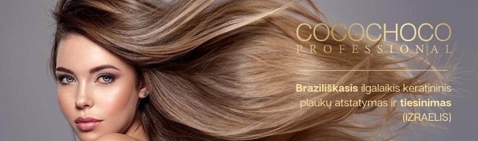 COCOCHOCO - braziliškasis ilgalaikis keratininis plaukų atstatymas ir tiesinimas (IZRAELIS)