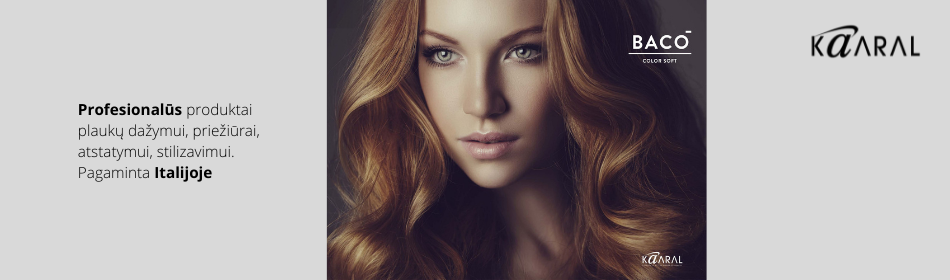 KAARAL - profesionalūs plaukų dažai, produktai plaukų dažymui, priežūrai, stilizavimui (ITALIJA)