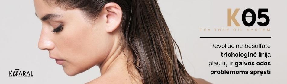 K05 - revoliucinė besulfatė trichologinė linija plaukų ir galvos odos problemoms spręsti [NAUJIENA]