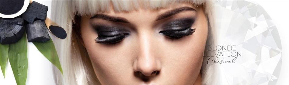 BLOND ELEVATION CHARCOAL - Juodosios anglies linija šviesintiems plaukams [neutralizuojanti raudonus/oranžinius atsp.]
